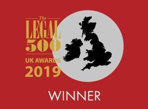 Legal 500 Winner